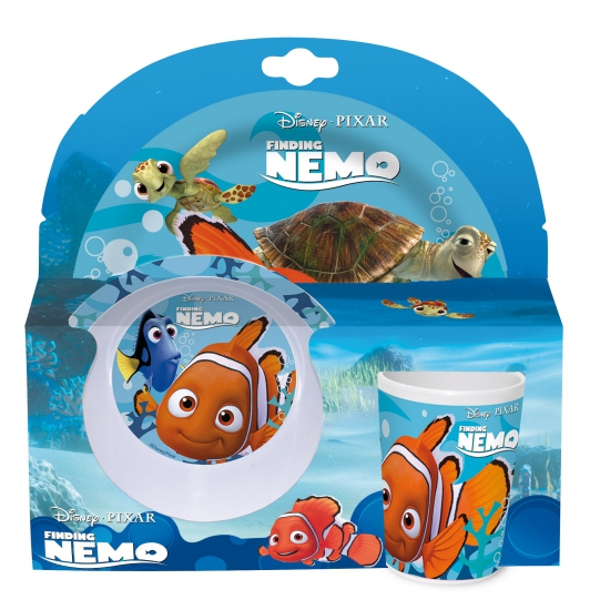 Kado servies Disney Nemo 3 delig
