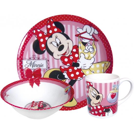 Keramieken ontbijtset Disney Minnie Mouse