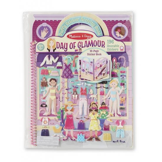 Kinder activiteiten boek glamour