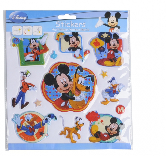 Kinder Disney 3D stickervellen