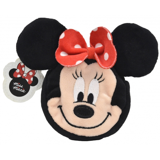 Kinder portemonnee pluche Minnie Mouse