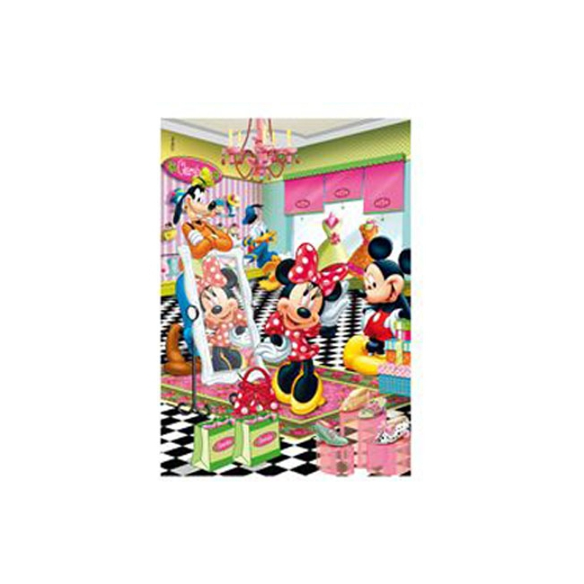 Kinder puzzel Mickey en Minnie Mouse 260 stukjes