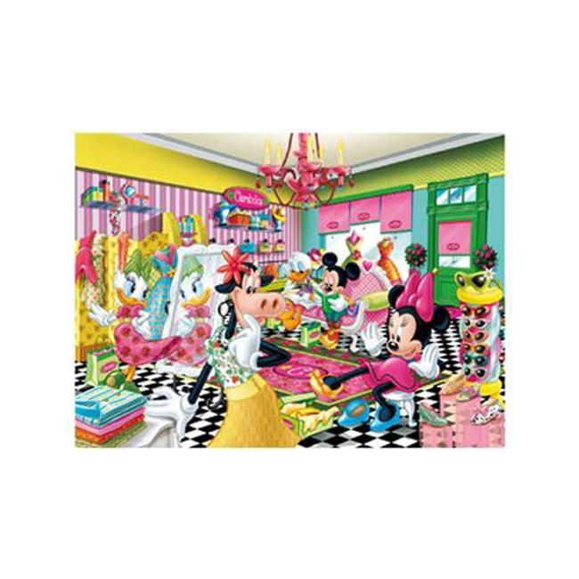 Kinder puzzel Minnie Mouse 60 stukjes