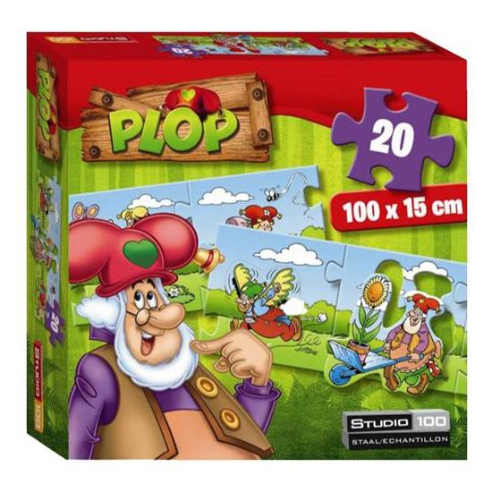 Kinder puzzels kabouter Plop 20 stukjes