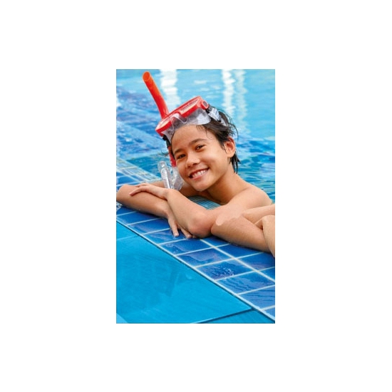 Kinder rode snorkel en duikbril vanaf 8 jaar