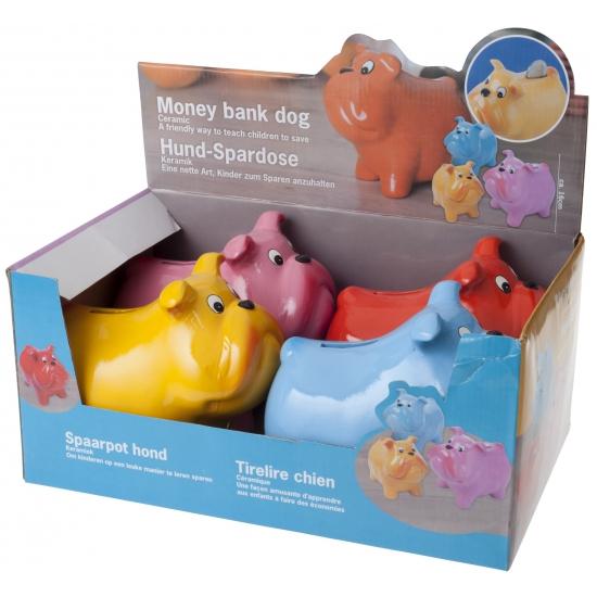 Kinder spaarpot van een hondje