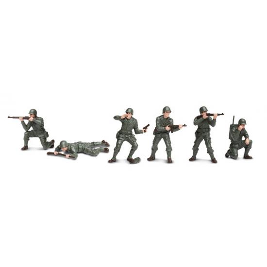 Kinder speel soldaten 6 stuks