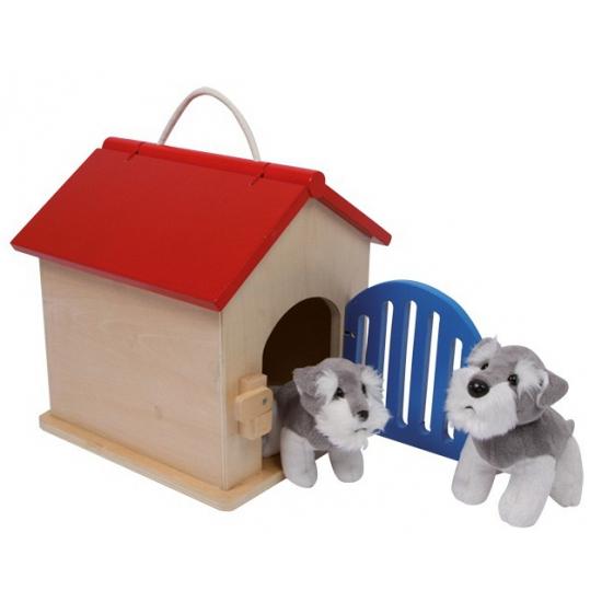 Kinder speelgoed hondenhok