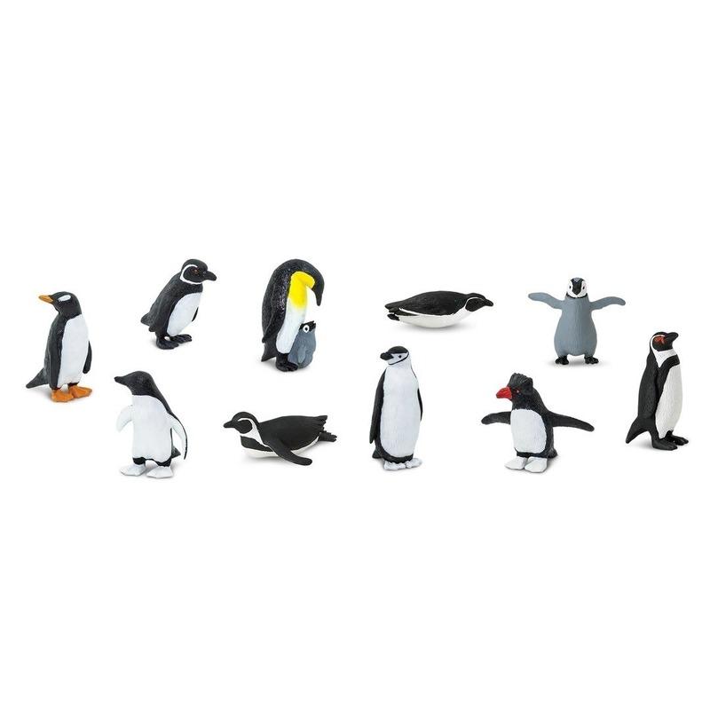 Kinder speelgoed pinguins van plastic