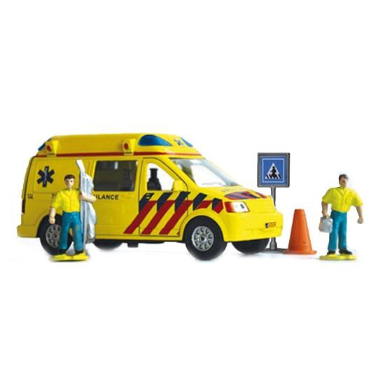 Kinder speelgoed set ambulance