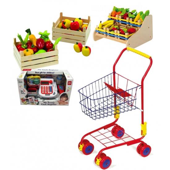 Kinder speelgoed set winkeltje spelen
