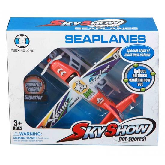 Kinder speelgoed watervliegtuigen