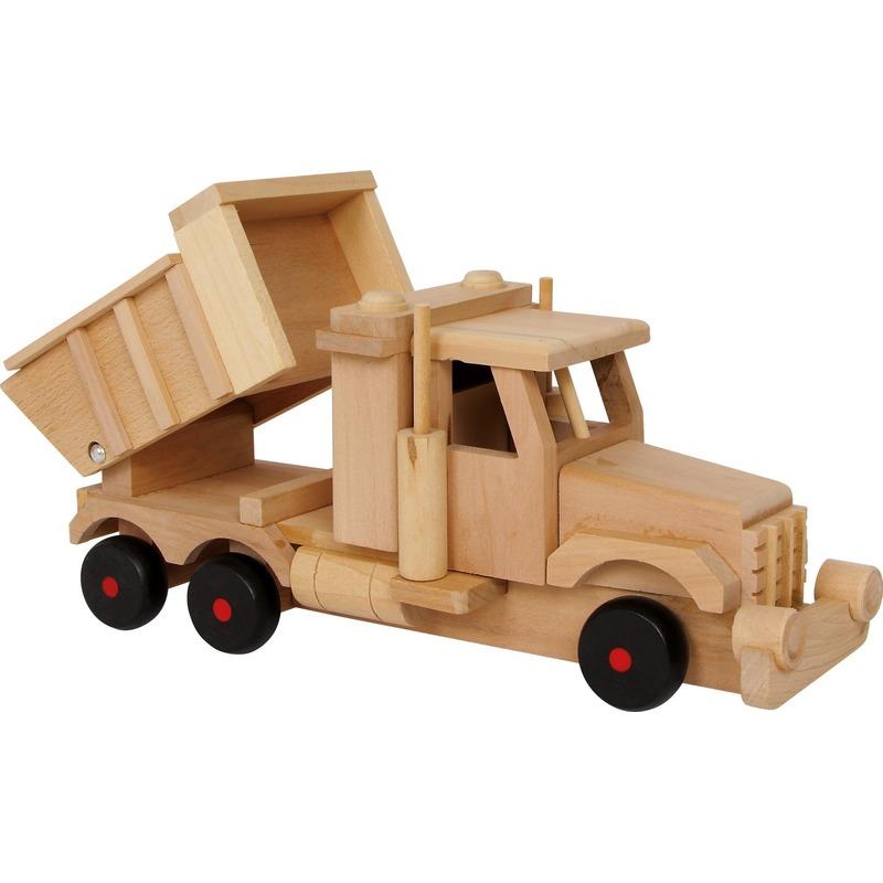 Kinder speelgoed zand vrachtwagen