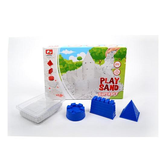 Kinder speelzand wit 450 gram