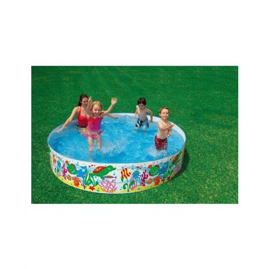 Kinder zwembad 244 cm met harde rand
