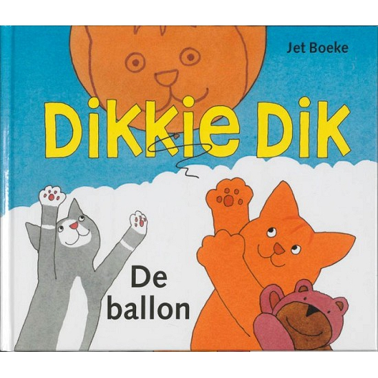 Kinderboek Dikkie Dik De ballon