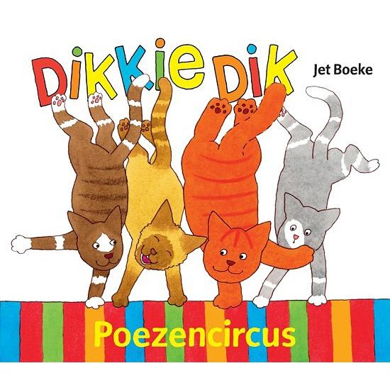 Kinderboek Dikkie Dik Poezencircus
