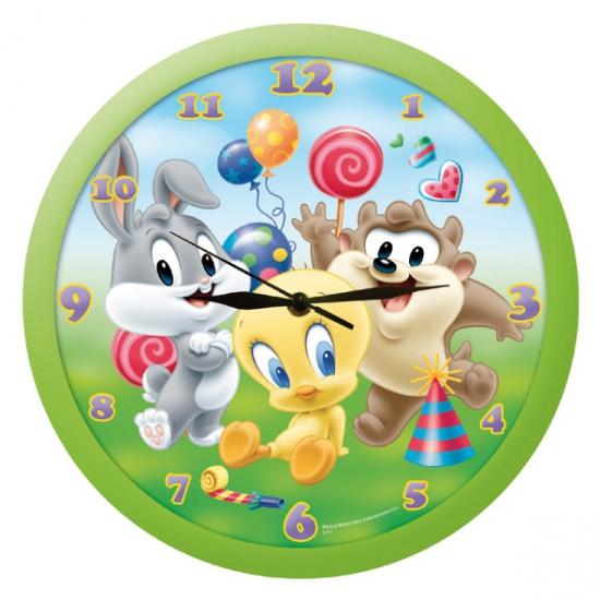 Kinderkamer klok van de Looney Tunes
