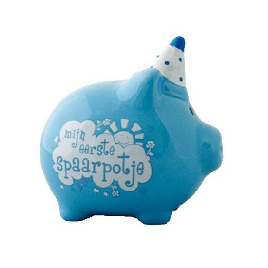 Kinderspeelgoed Eerste spaarpotje blauw