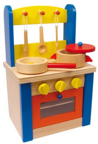 Kinderspeelgoed keuken 19 x 24 x 38 cm
