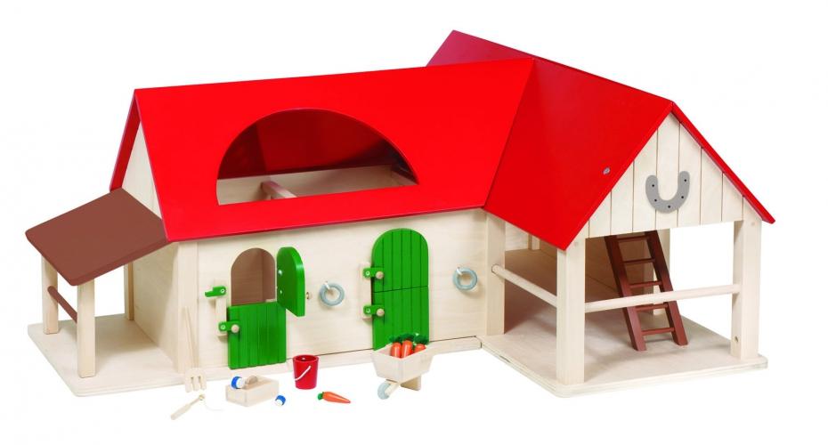 Kinderspeelgoed manege van hout
