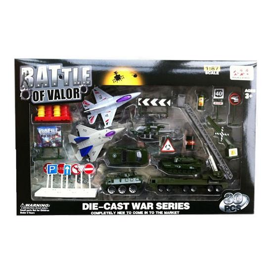 Kinderspeelgoed militaire voertuigen