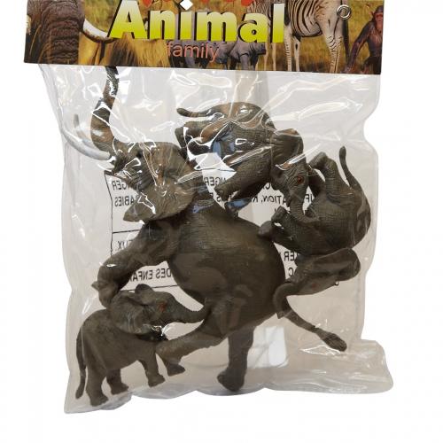 Kinderspeelgoed olifanten setje