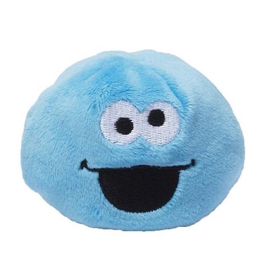 Kinderspeelgoed pluche Sesamstraat bal Koekiemonster