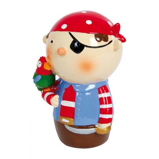 Kinderspeelgoed rode piraat spaarpot
