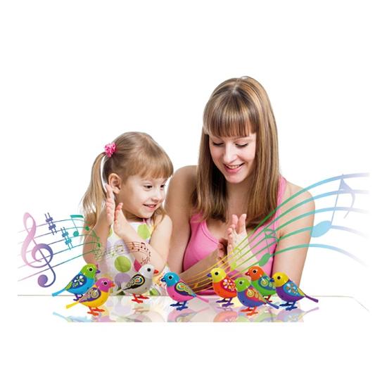 Kinderspeelgoed zingende DigiBirds
