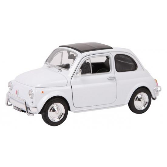 Klassieke Fiat Nuova 500 schaalmodel