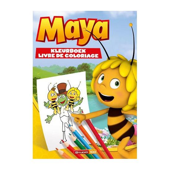 Kleurboek Maya de Bij en haar vriendjes
