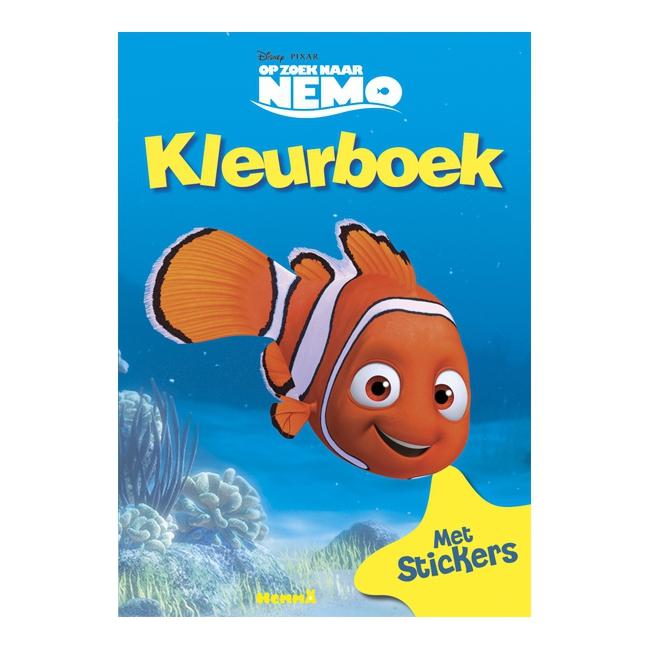 Kleurboek van Nemo met stickers