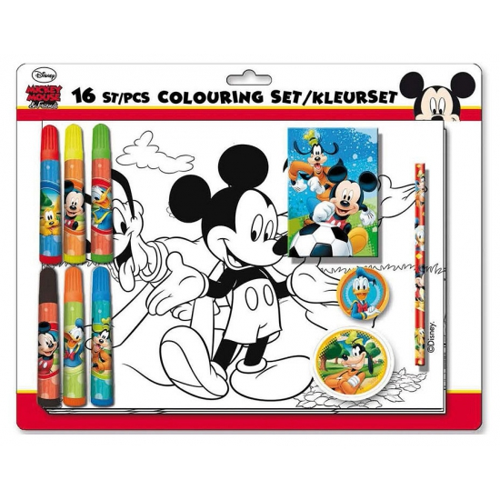 Kleurset met Disney Mickey Mouse