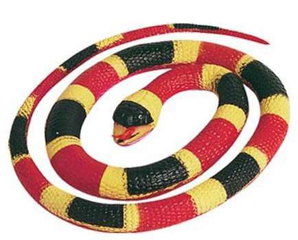 Koraal slang 66 cm rubber