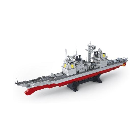 Kruiser schip bouw blokjes