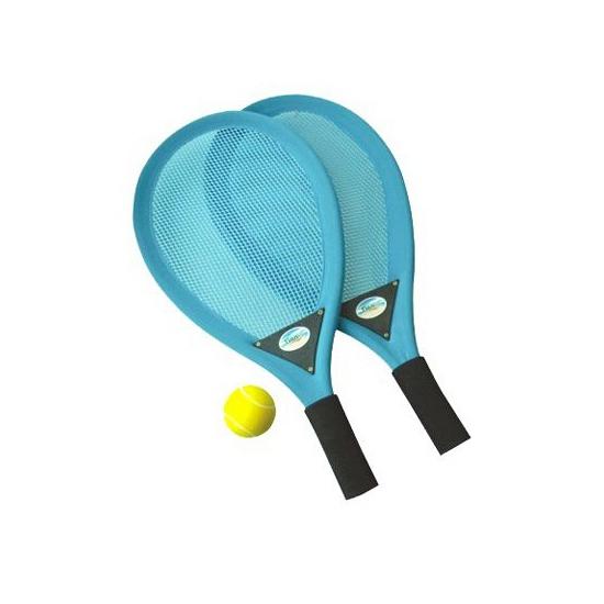 Kunststof tennis rackets met softbal