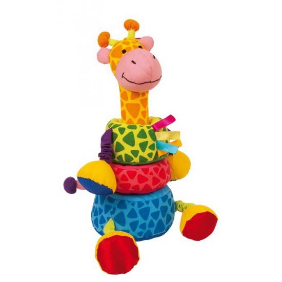 Leerknuffel giraffe 24 cm