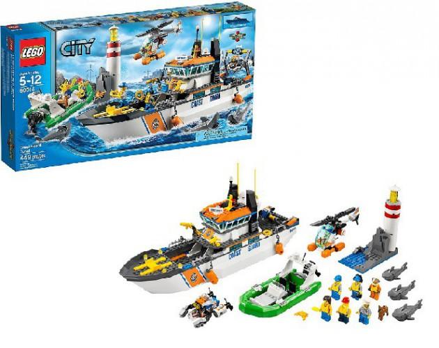 Lego City 60014 Kustwacht patrouille