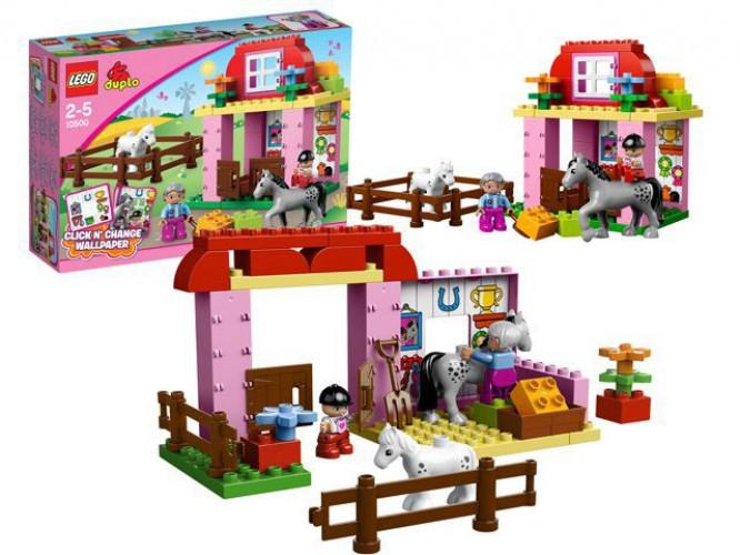 Lego Duplo kinderspeelgoed 10500 Paarden