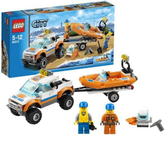 Lego Reddingsboot speelset