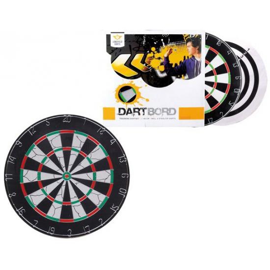 Longfield dartbord met pijlen