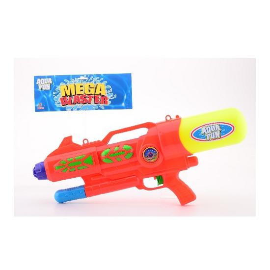 Megablaster watergeweer gekleurd 60 cm