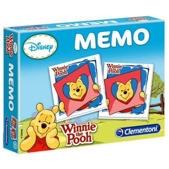 Memory spellen van Winnie de Poeh