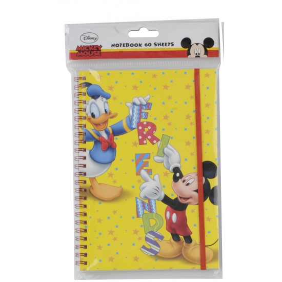 Mickey en Donald notitieboek A5