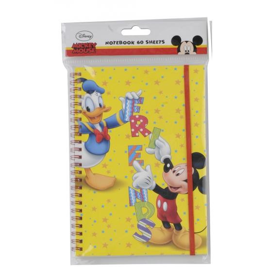 Mickey en Donald schrijfboekje