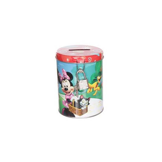 Mickey en Minnie Mouse spaarpot rood