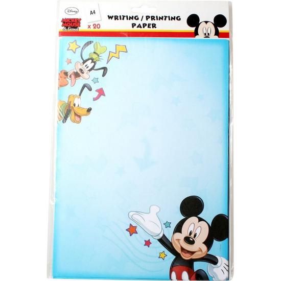 Mickey Mouse A4 kinder schrijfpapier 20 vellen