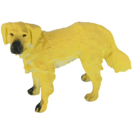 Mini Golden Retriever plastic
