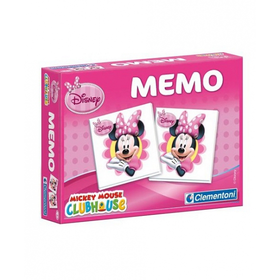 Minnie Mouse memo spel